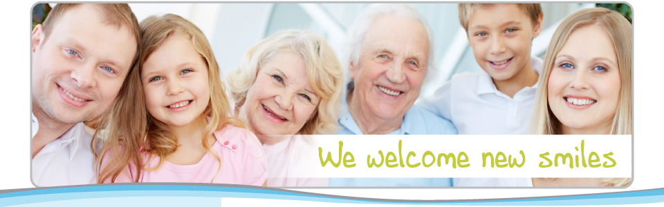 multi-generational family | We welcome new smiles