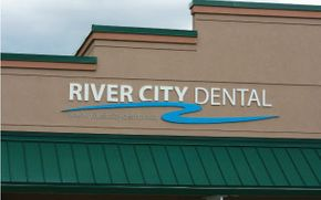 River City Dental sign